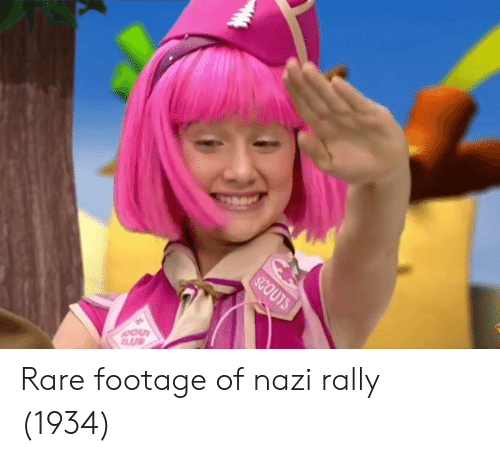 Nazi, Rare, and Rally: Rare footage of nazi rally (1934)