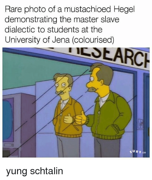 master slave dialect What hegel's master/slave dialectic really means andrew cole journal of medieval and early modern studies, volume 34, number 3, fall 2004, pp 577-610 (article.