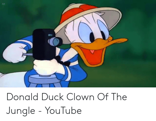 Rb Donald Duck Clown Of The Jungle Youtube Youtube Com