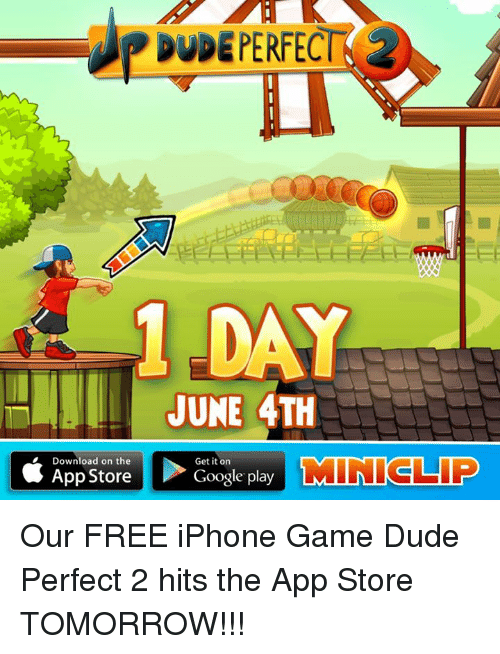 RDUDE PERFECT 1 DAY JUNE 4TH Download on the Get It on TMIN