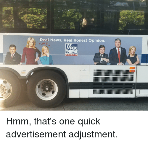 Rea! News Real Honest Opinion FOX NEWS Channel FUEL DOOR | News Meme