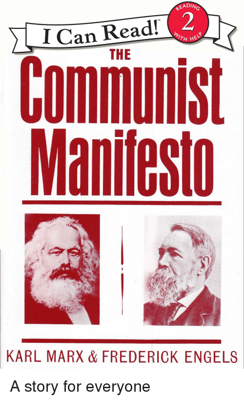 an overview of the communist manifesto of 1848 and roles of karl marx and friedrich engels applicati