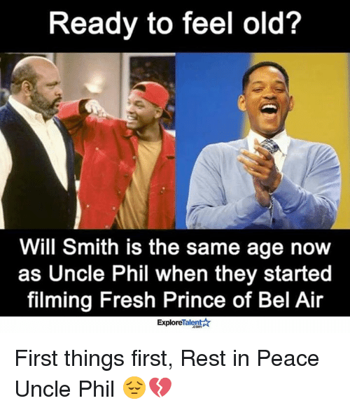 Rest In Peace Uncle Phil