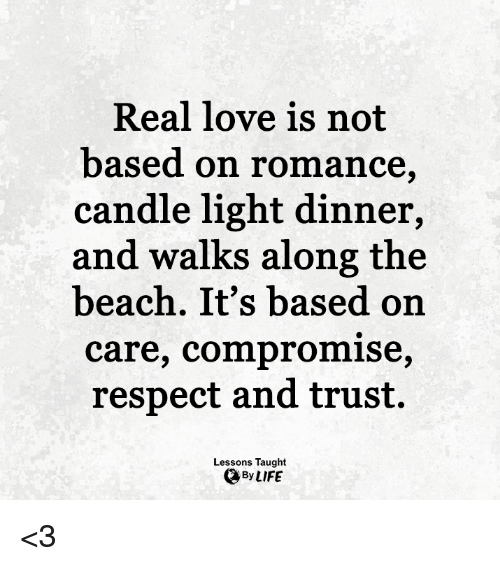 how to know if love is real