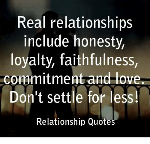Honesty And Loyalty In A Relationship