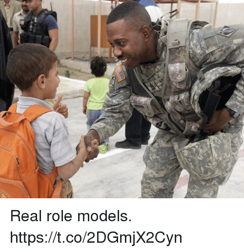 Memes, Models, and Role Models: Real role models. https://t.co/2DGmjX2Cyn