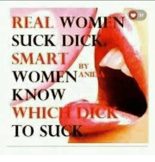 Real women suck dick
