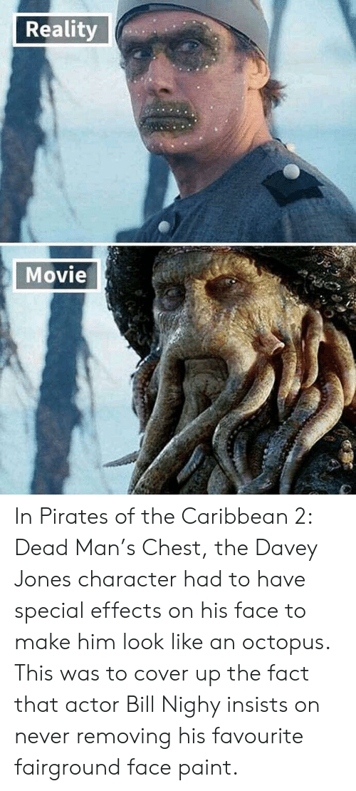 Reality Movie in Pirates of the Caribbean 2 Dead Man's Chest