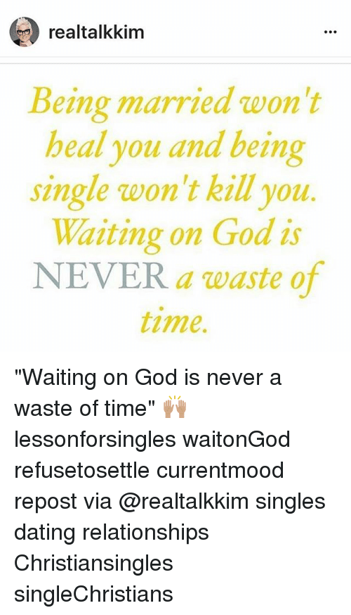 dating and waiting on god
