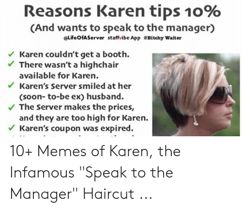 Reasons Karen Tips 10% and Wants to Speak to the Manager