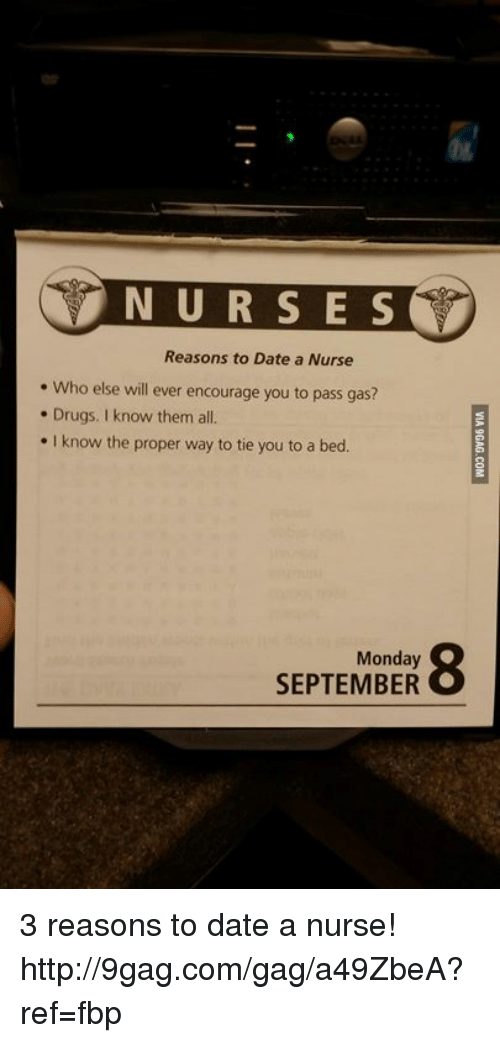 Reasons to date a nurse
