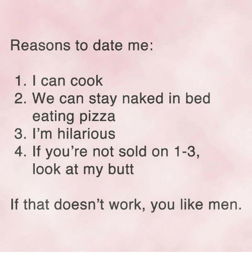 reasons not to date a guy