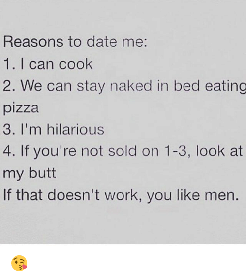 reasons for not dating