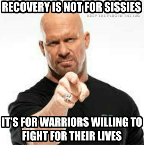 Image result for RECOVERY MEME