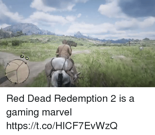 me.me: Red Dead Redemption 2 is a gaming marvel https://t.co/HICF7EvWzQ