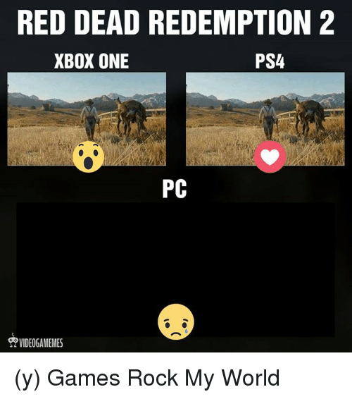 RED DEAD REDEMPTION 2 PS4 XBOX ONE PC Y Games Rock My World
