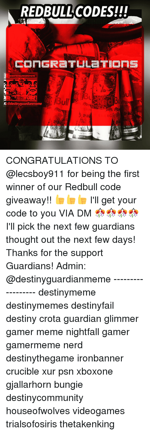 redbull codes ccongre tuletions obe bull ic destinyguardianmeme