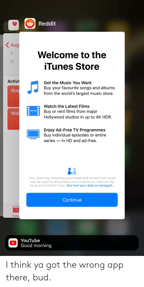 Reddit Aug Welcome to the 11 iTunes Store Activi Get the
