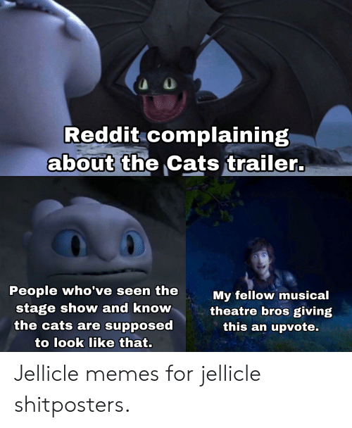 Reddit Complaining About the Cats Trailer People Who've Seen the