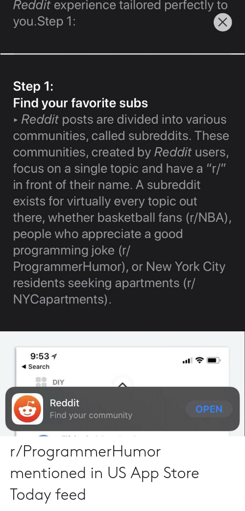 Reddit Experience Tailored Perfectly to X youStep 1 Step 1