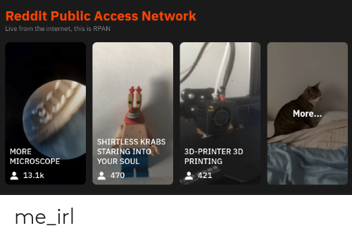 Reddit Public Access Network Live From the Internet This Is