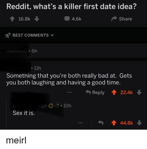 Best ideas for first dates