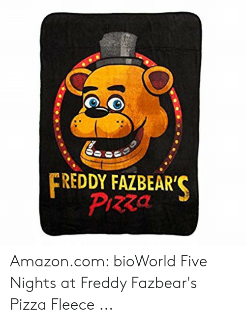REDDY FAZBEAR' Pizza Amazoncom bioWorld Five Nights at