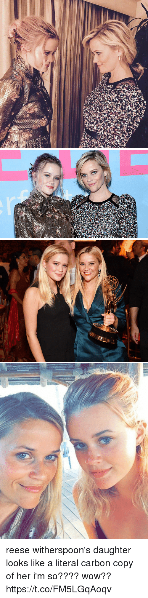 Wow, Girl Memes, and Her: reese witherspoon's daughter looks like a literal carbon copy of her i'm so???? wow?? https://t.co/FM5LGqAoqv