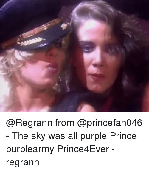Memes Prince And Purple Regrann From Princefan046 The Sky Was