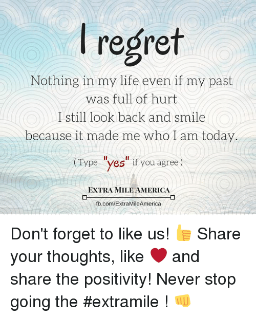 how to look back on your past with positivity