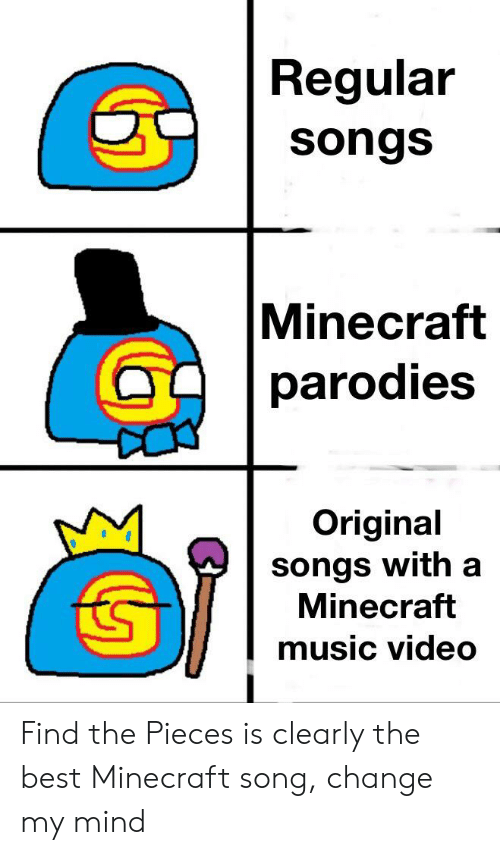 look at me minecraft song