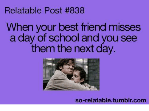 Captivating Best Friend, Funny, And Best Friends: Relatable Post #838 When Your Best