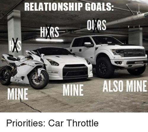 relationship goals with cars