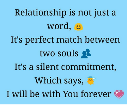 dced88d3436a5d Relationship Is Not Just a Word It s Perfect Match Between Two Souls ...