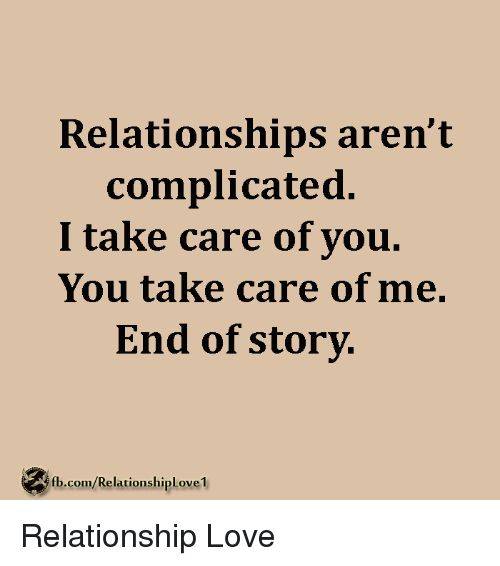 how to end a complicated relationship