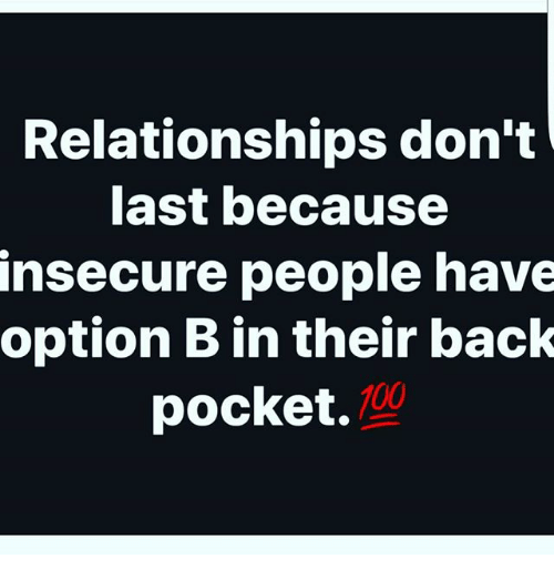 don t be an option