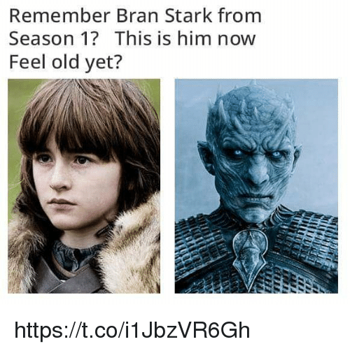 Remember Bran Stark From Season 1 This Is Him Now Feel Old Yet