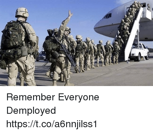 Memes, 🤖, and Remember: Remember Everyone Demployed https://t.co/a6nnjilss1