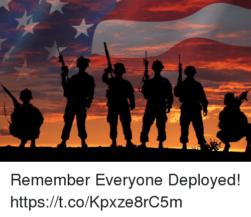 Memes, 🤖, and Remember: Remember Everyone Deployed! https://t.co/Kpxze8rC5m