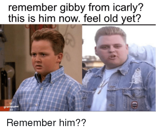 remember gibby from icarly this is him now feel old 25960890 remember gibby from icarly? this is him now feel old yet? u