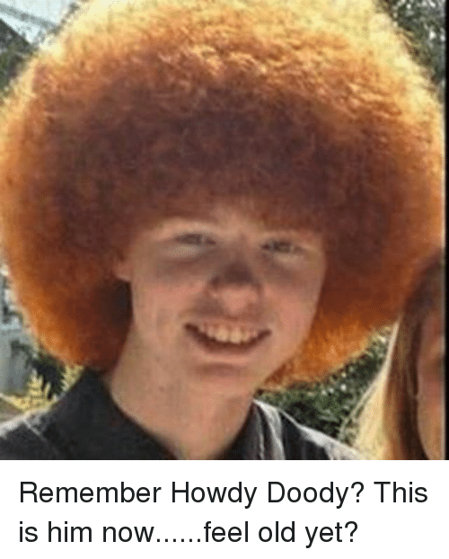 Absolutely agree howdy doody fucking