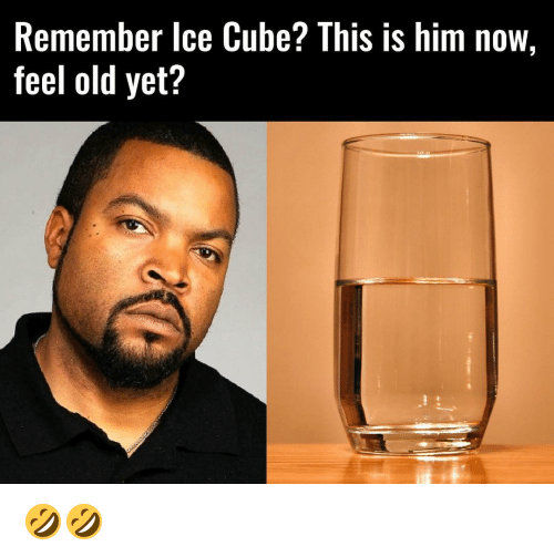 remember ice cube this is him now feel old yet 10206640 remember ice cube? this is him now feel old yet? 🤣🤣 ice cube,Ice Cube Meme