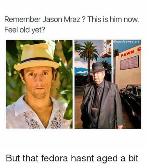 Remember Jason Mraz This Is Him Now Feel Old Yet  Sweaters but That ... de0c4d5f3c0