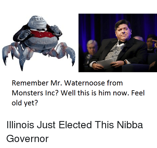 remember mr waternoose from monsters inc well this is him now feel