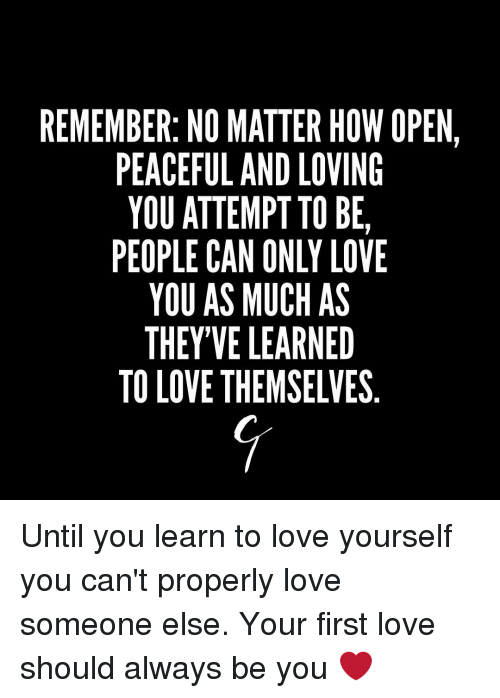 How to open yourself to love