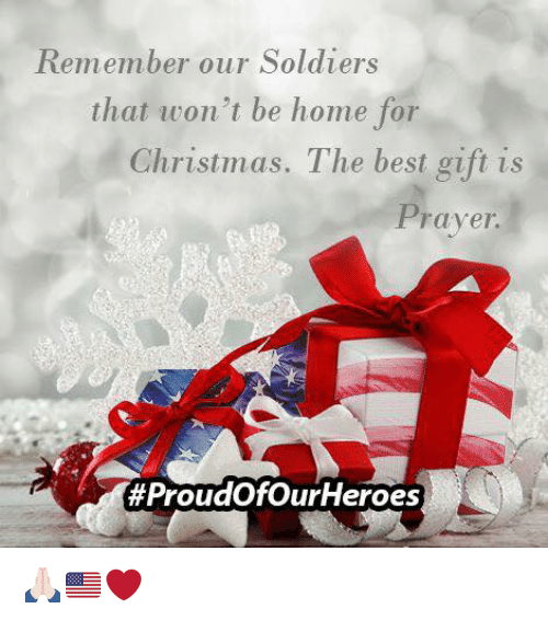 Memes, Soldiers, and Heroes: Remember our Soldiers that won't be home