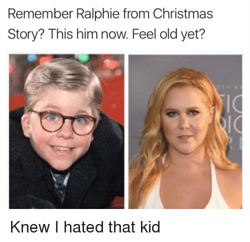 Ralphie Christmas Story.Remember Ralphie From Christmas Story This Him Now Feel Old