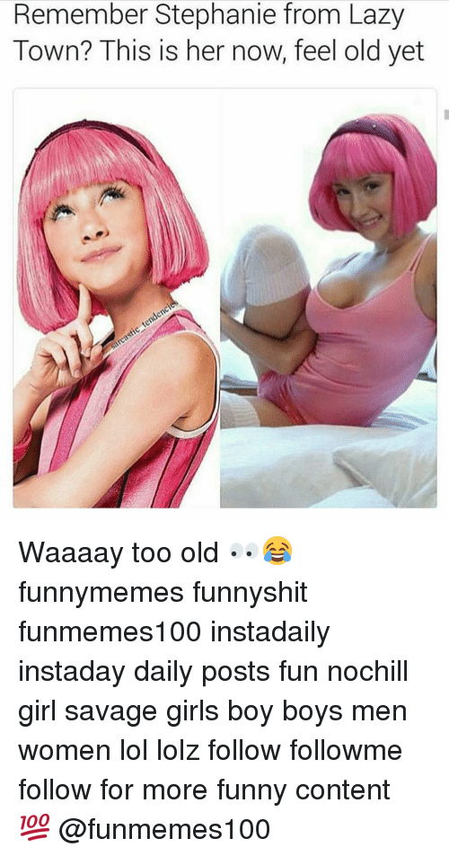new lazy town girl