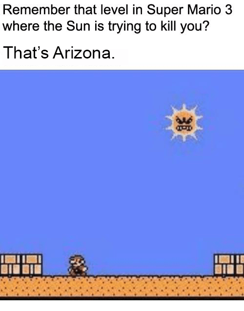Remember That Level in Super Mario 3 Where the Sun Is Trying