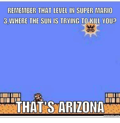 REMEMBER THAT LEVEL IN SUPER MARIO 3WHERE THE SUN IS TRYING